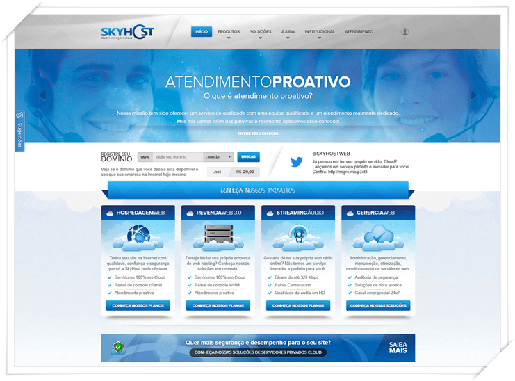 SkyHost Web Hosting Services